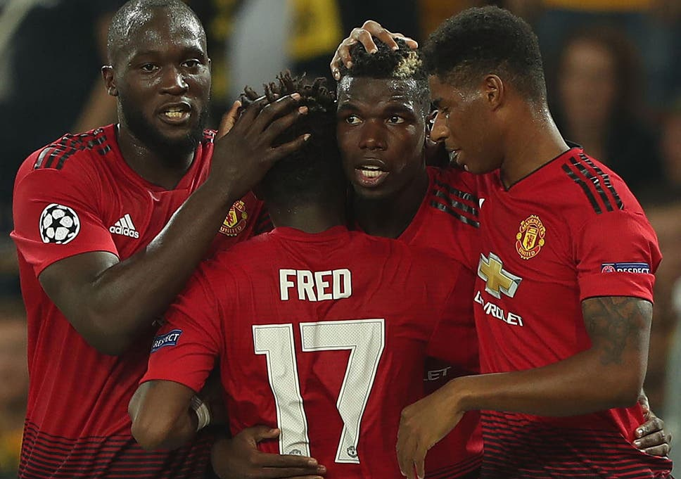 Image result for Paul Pogba, Luke Shaw, Anthony Martial