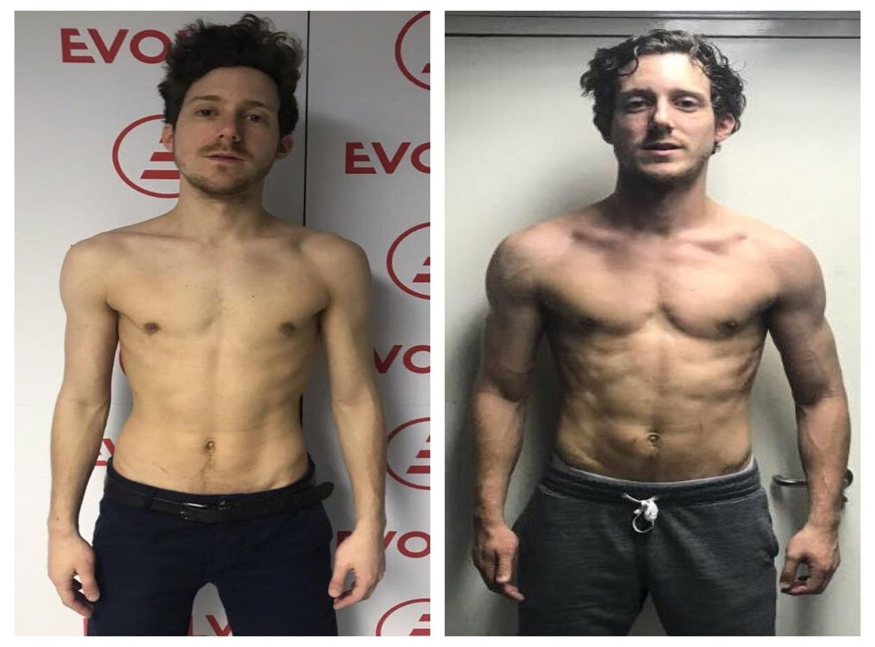 How A Man Who D Never Entered A Gym Went From Skinny To Built In 12 Weeks The Independent The Independent For naturally skinny women, though, getting toned means developing more lean muscle mass. from skinny to built in 12 weeks
