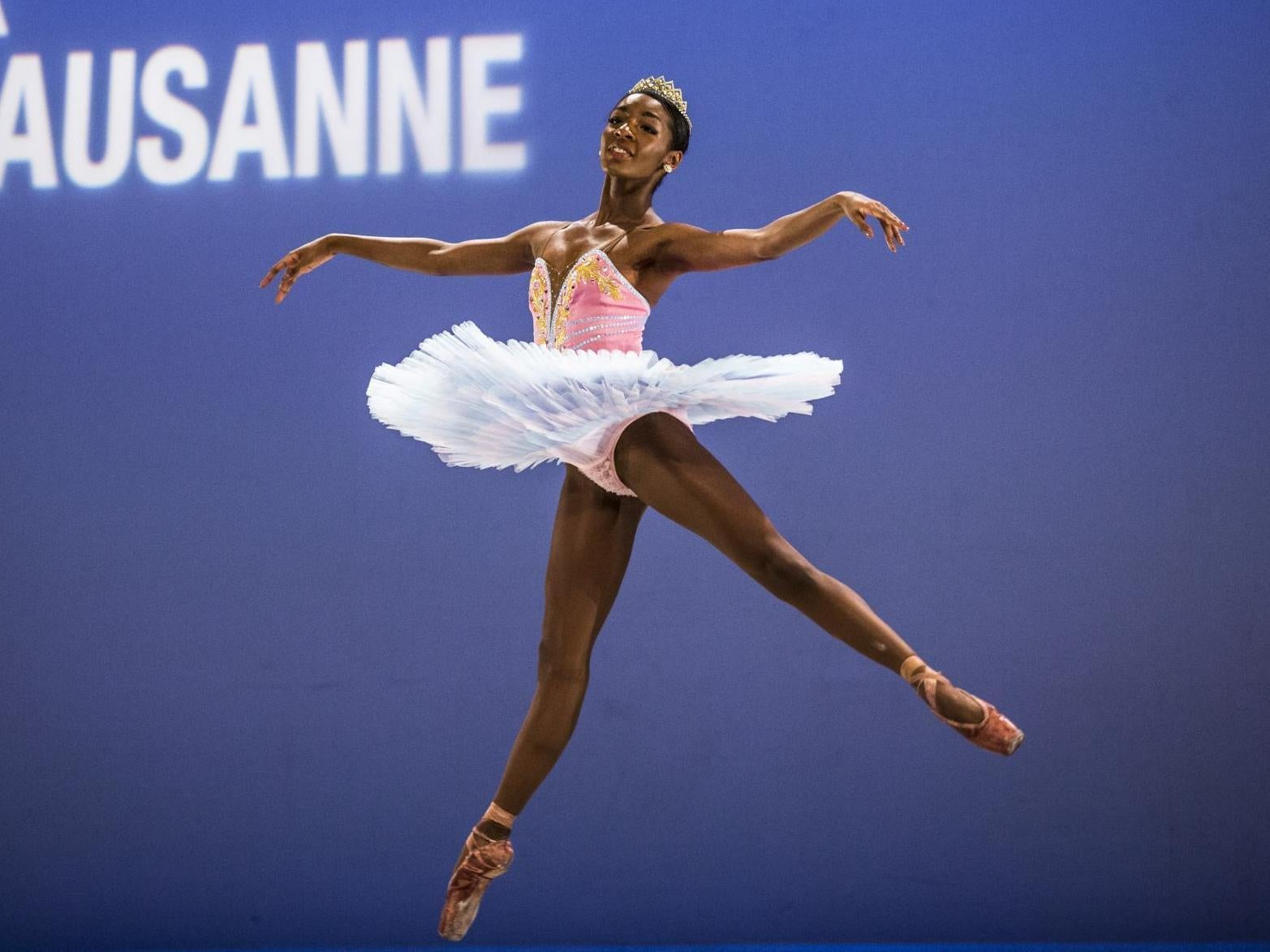 b3f8bbc52b5b Ballerina Precious Adams explains why she won't wear the traditional pink  tights: 'I'm not colourblind' | The Independent
