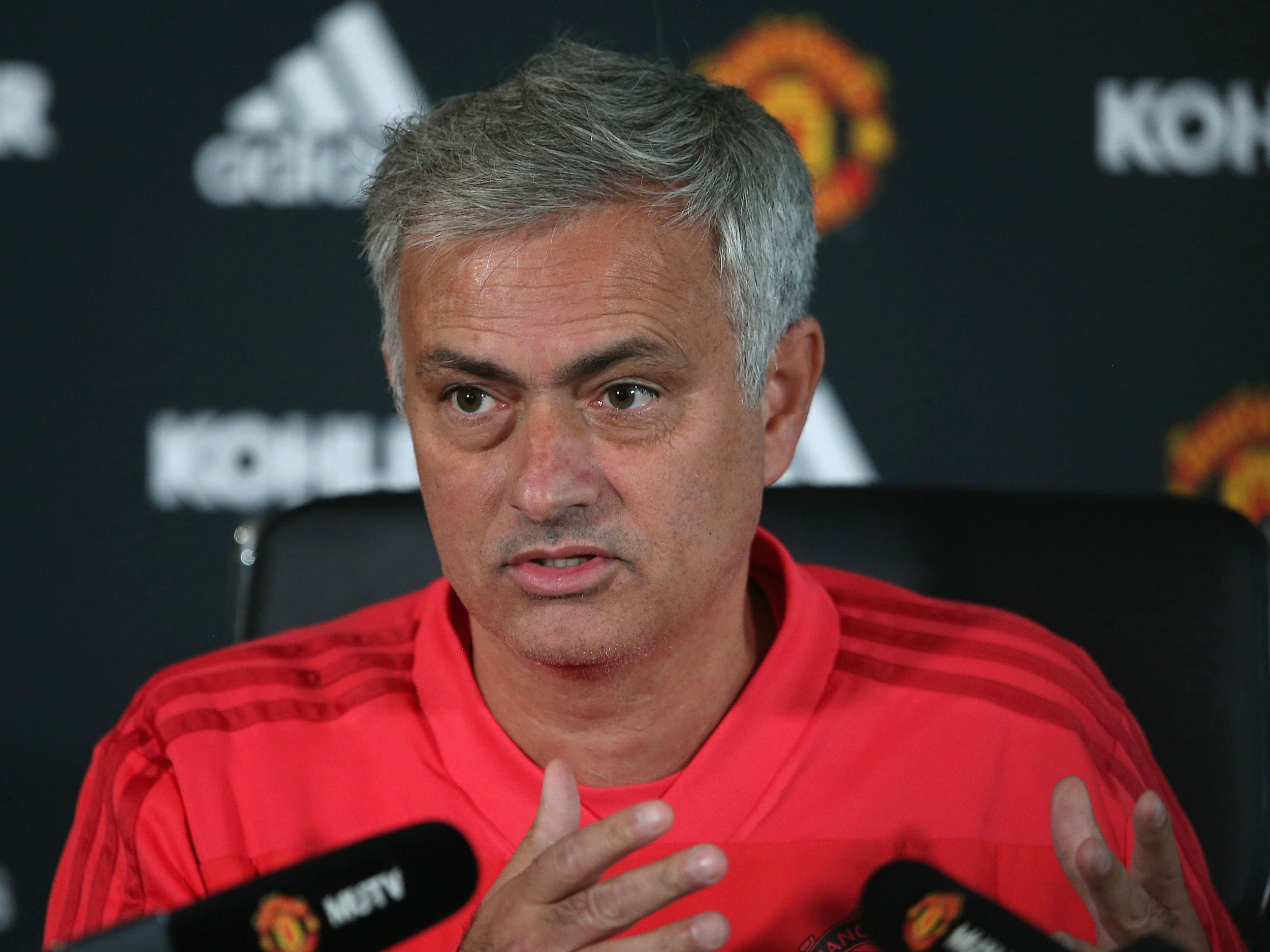 Manchester United must focus on top four before title challenge, says Jose Mourinho