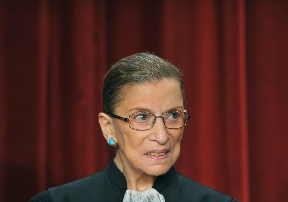 Ruth Bader Ginsburg  Is Up And Making Jokes