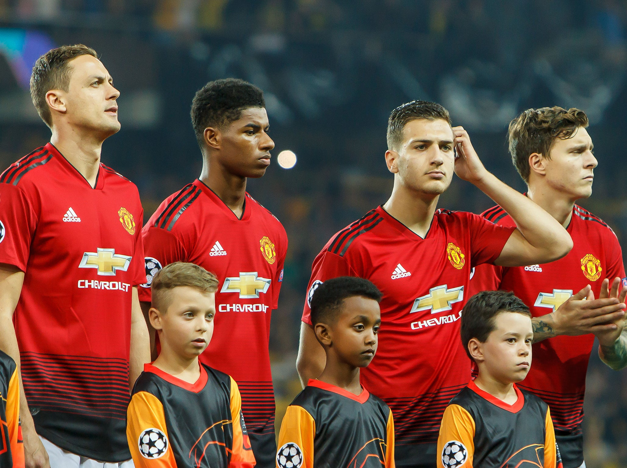 manchester united have battled back after their defeat by tottenham