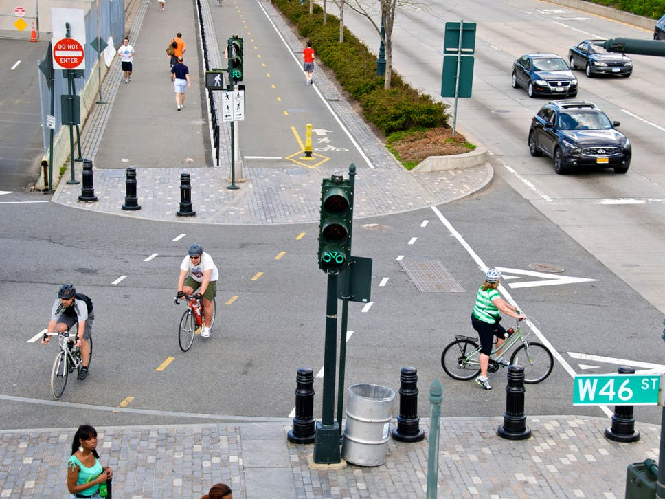 How to design bike lanes fit for the 21st century | The Independent