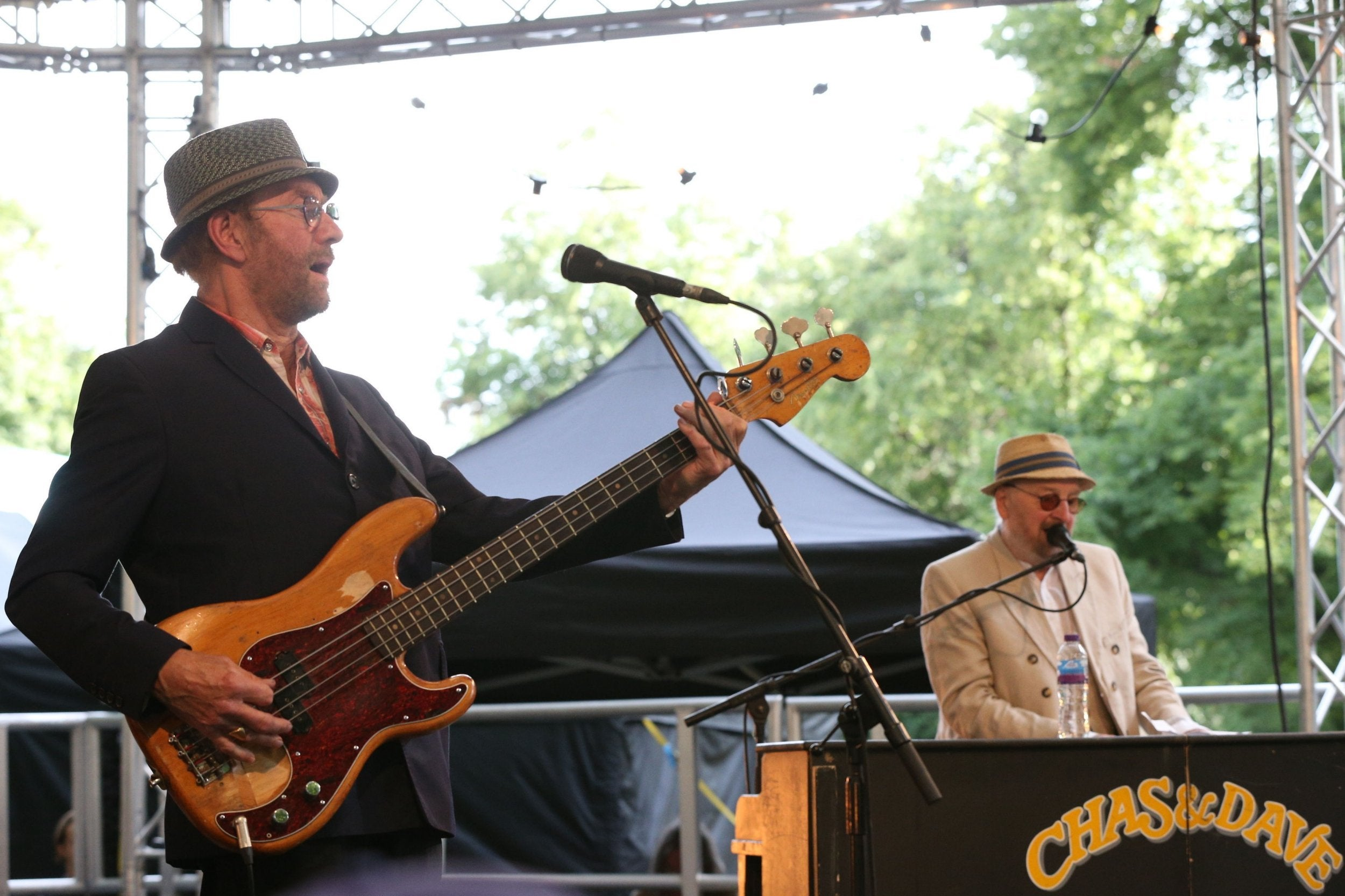 Image result for Chas Hodges - One Half of the Musical Duo Chas and Dave - Dies at 74 from Organ Failure