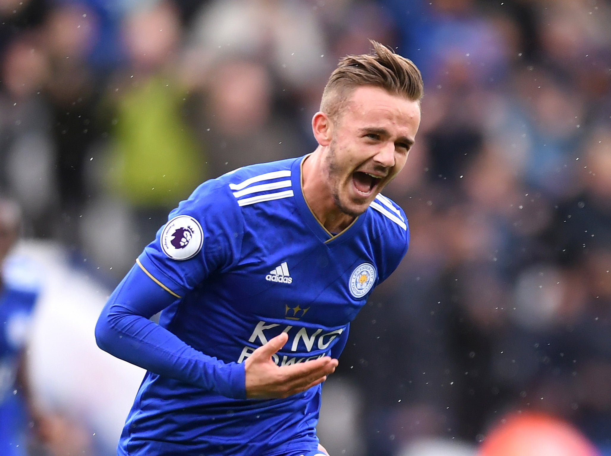 e1aa5fde17 James Maddison the star as Leicester battle back to beat Huddersfield