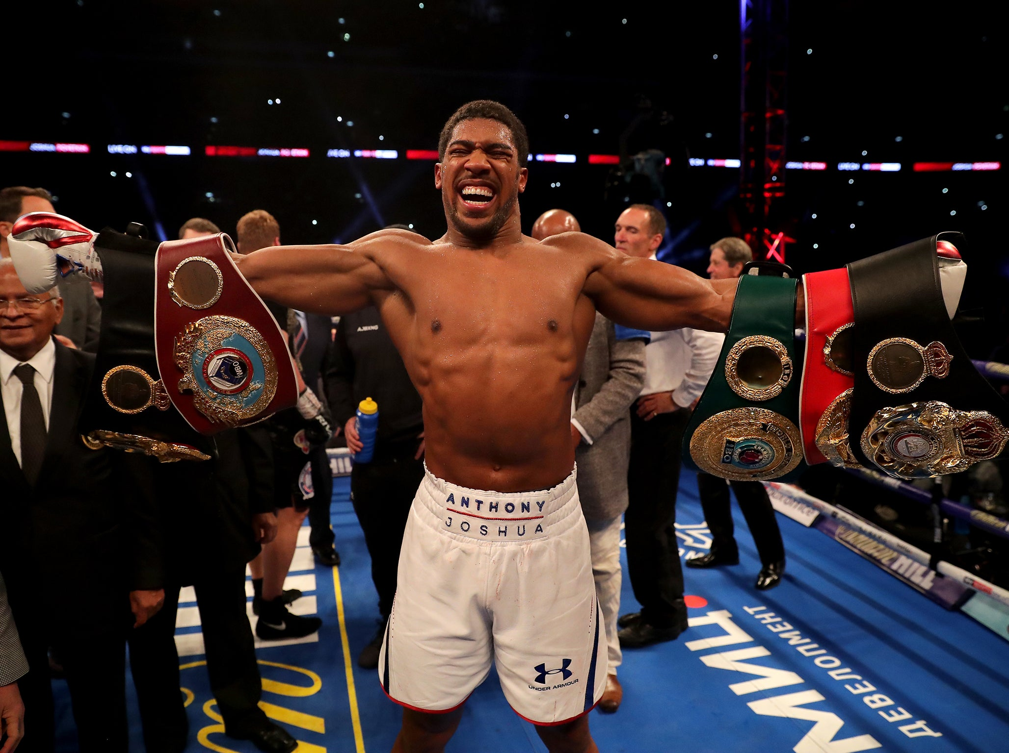 anthony joshua latest news breaking stories and comment the