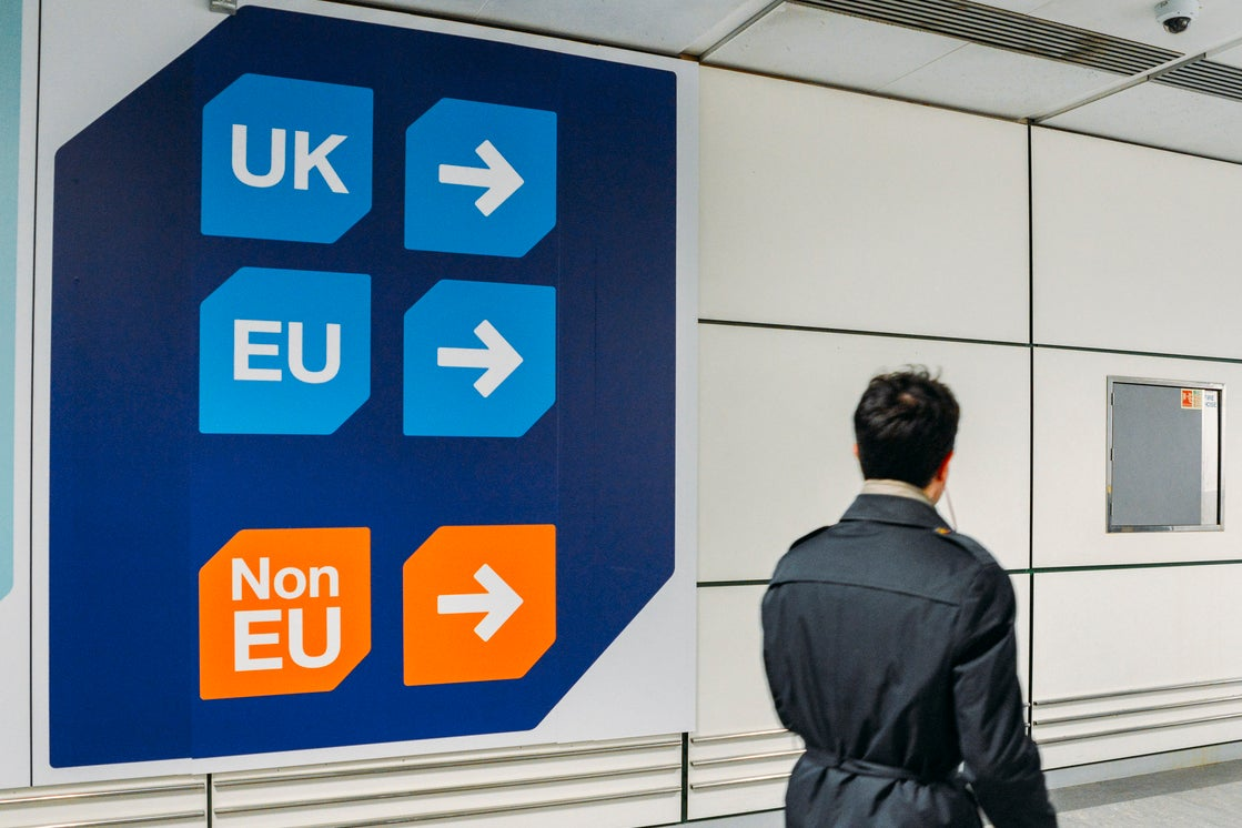 Brexit: EU parliament votes to give UK citizens visa-free travel in event of no-deal