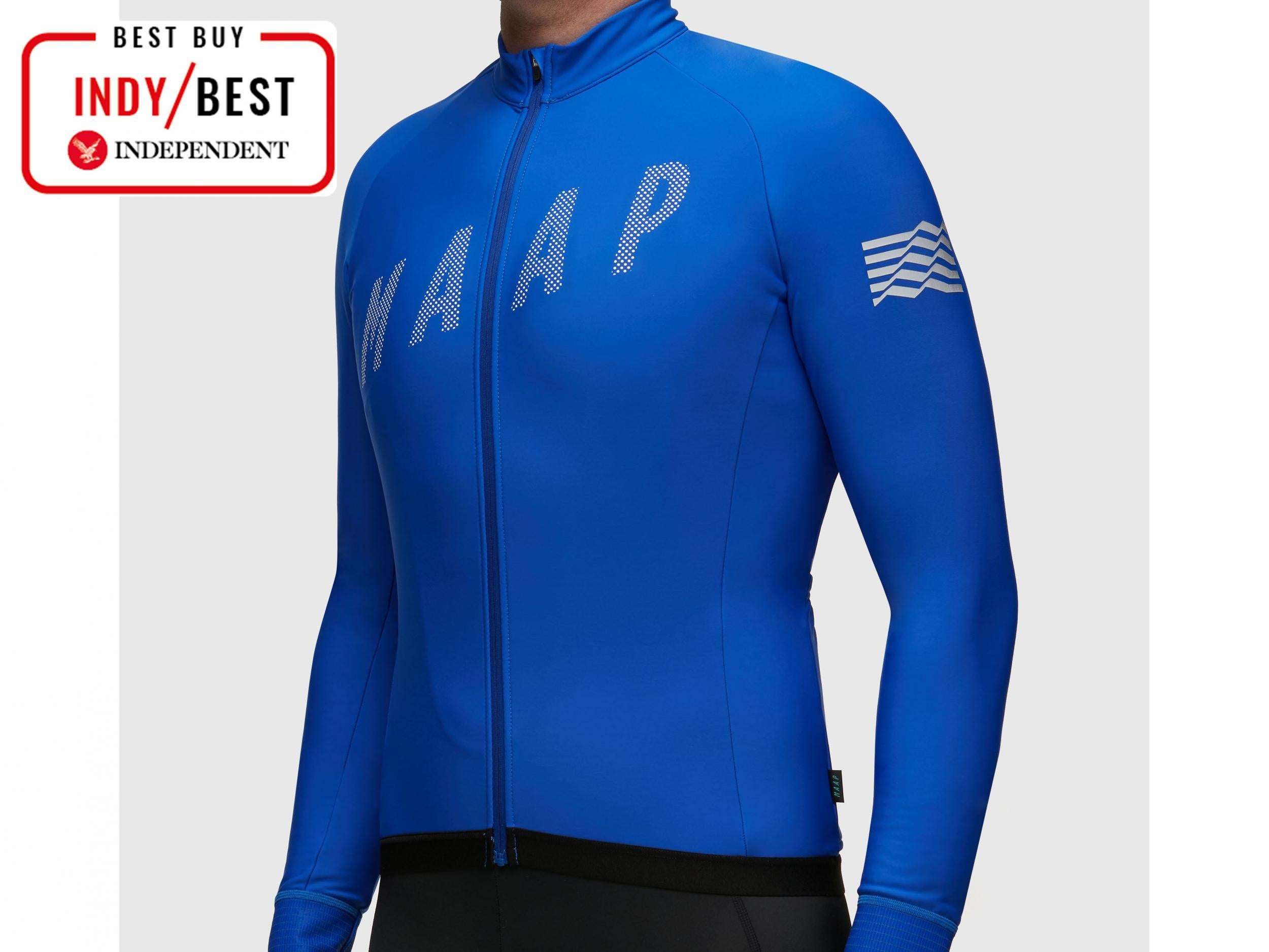 Aussie firm Maap is determined to brighten up our winter with this stunning  azure outfit. The cut is slim without being restrictive and the lightly  fleeced ... 0197d1236