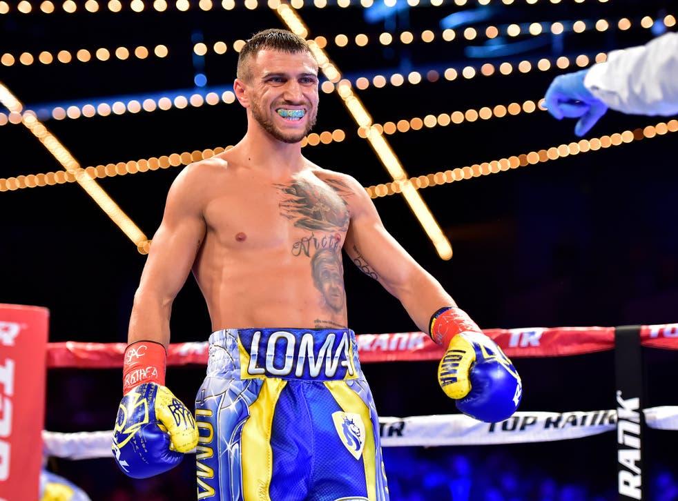 Vasyl Lomachenko is the WBA (Super) lightweight champion