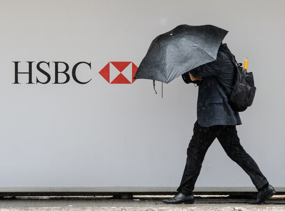 The rain's falling at the bank after a miserable set of results