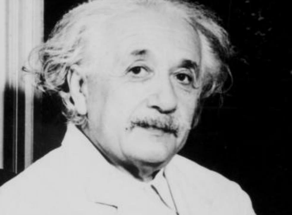 Einstein abandoned religion at the age of 13 when he discovered mathematics