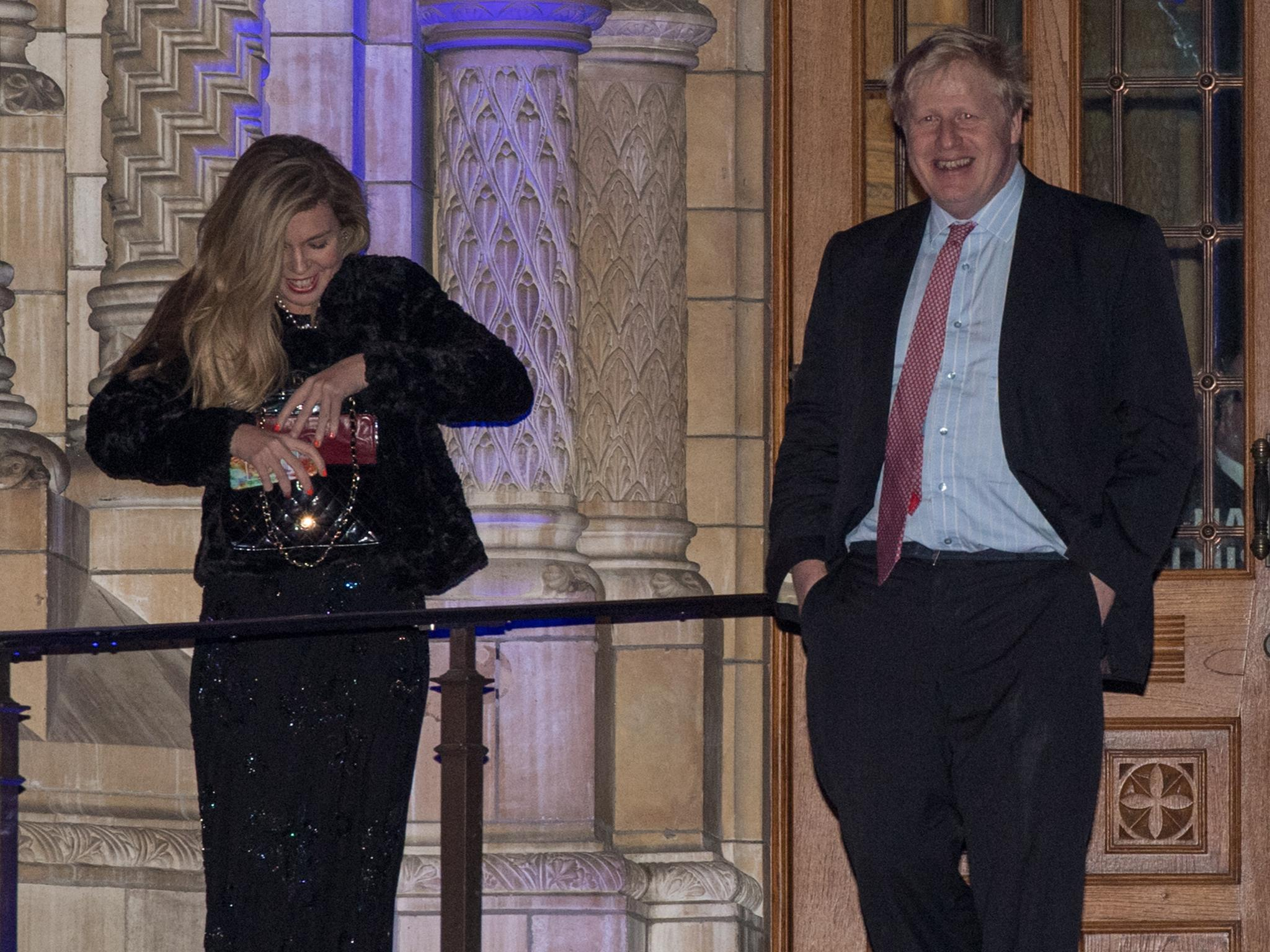 Boris Johnson Is Missing A Rare Chance To Shine While Carrie Symonds