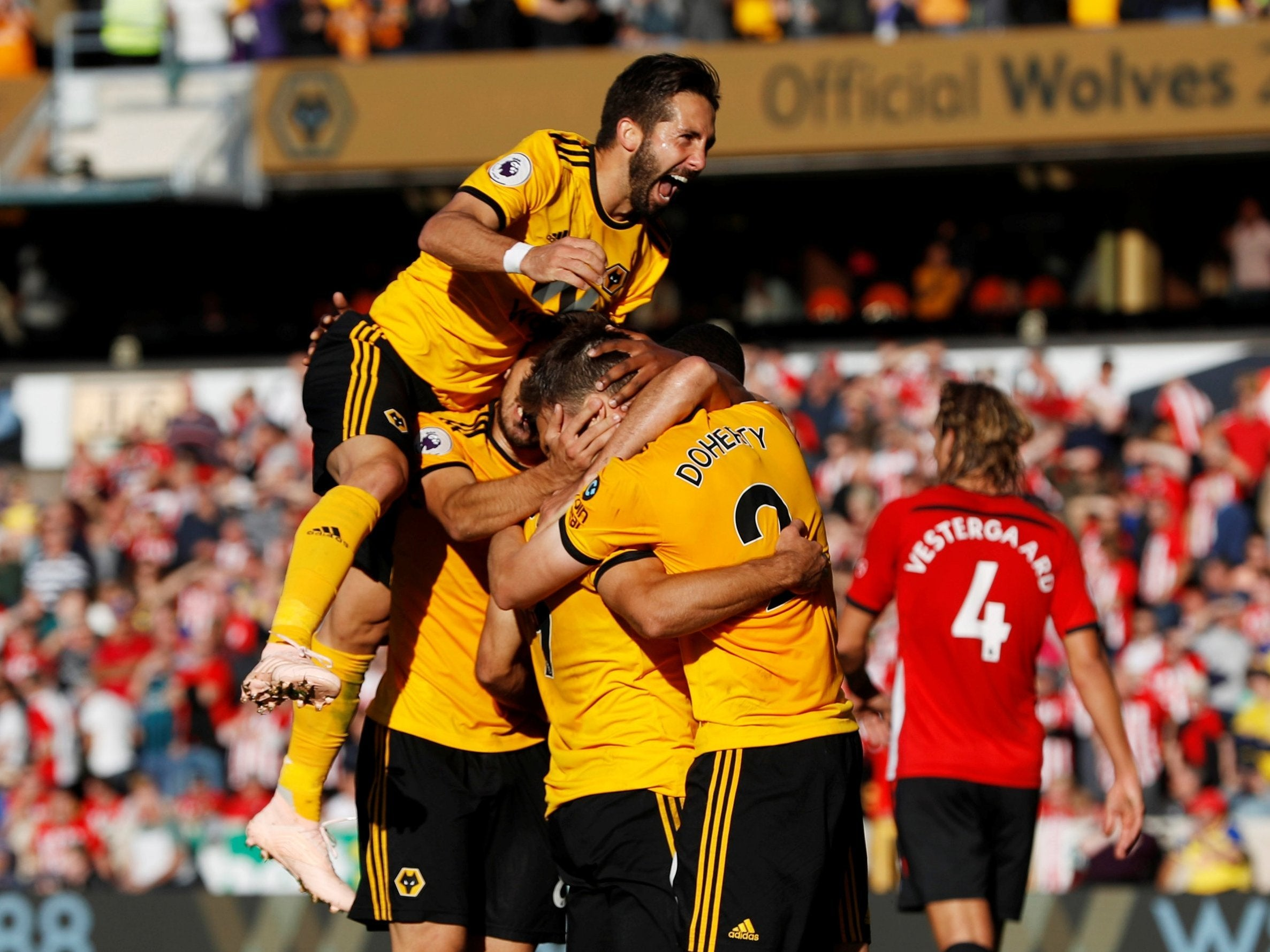 wolves vs southampton - photo #1