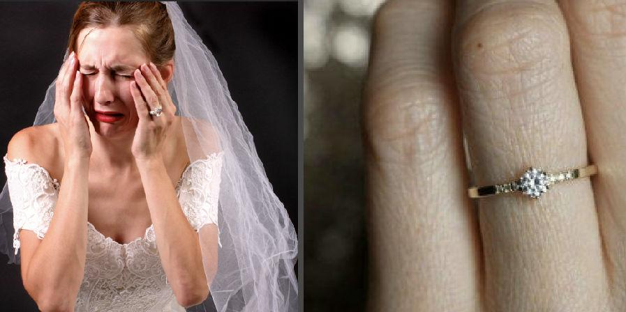 28d1b8d74172 Woman complains about her 'small' engagement ring and gets destroyed ...