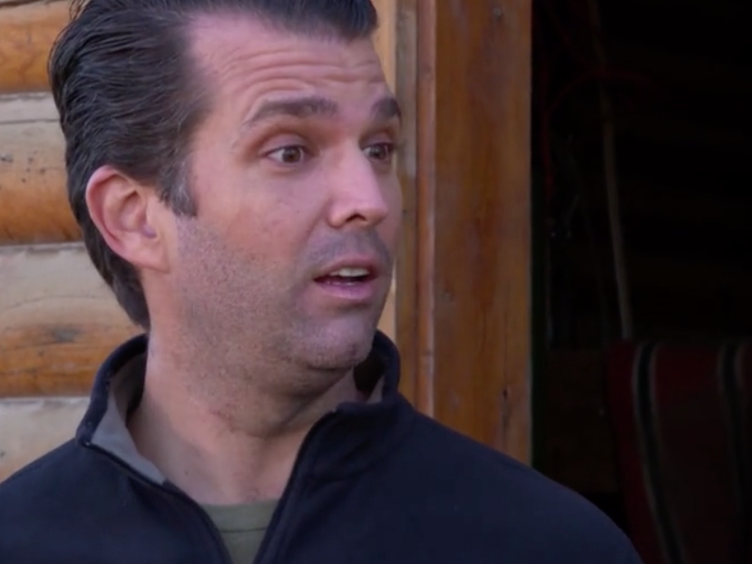 Trump Jr says he is more concerned for his boys than girls after Kavanaugh sexual assault accusations