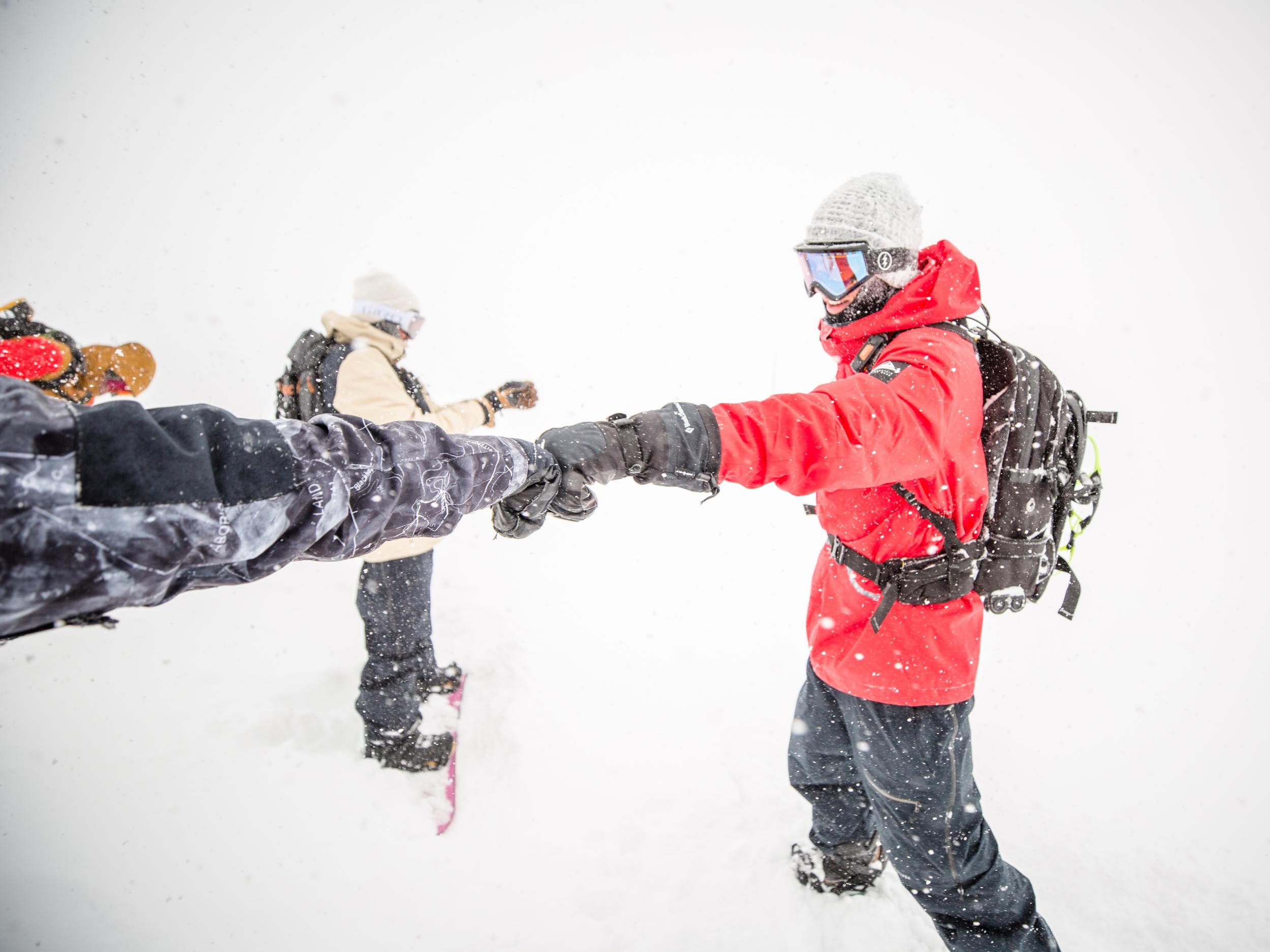 ski and snowboard gloves 2019