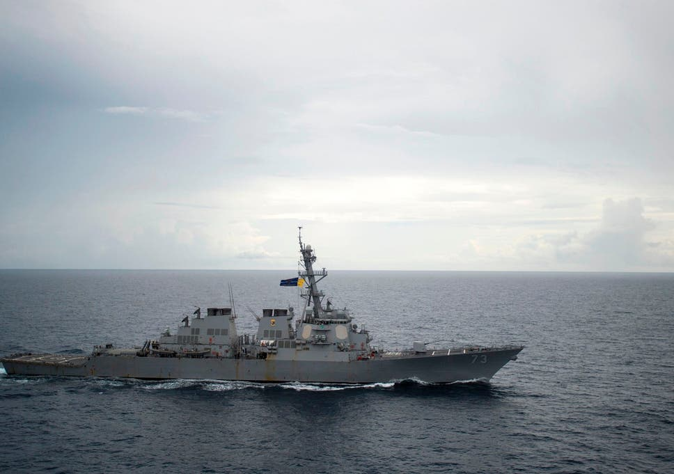 Chinese Ship Comes Within 45 Yards Of Us Destroyer In South China