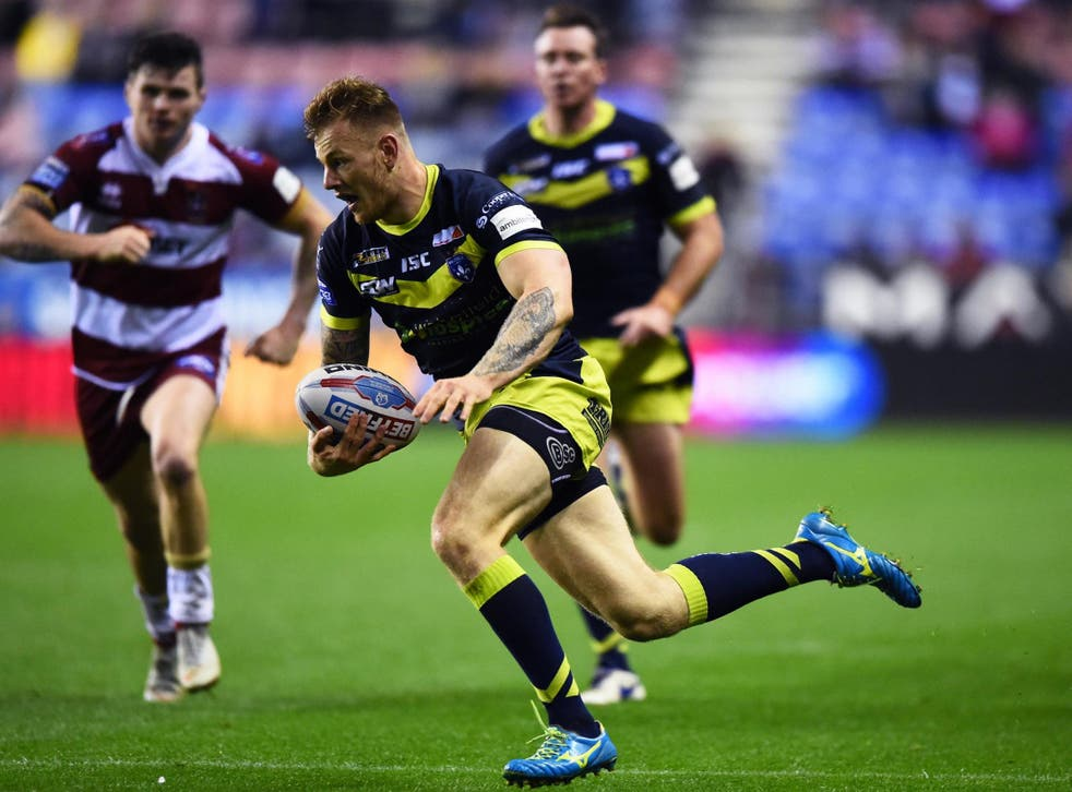 Tom Johnstone has scored 24 tries for Trinity in Super League this season