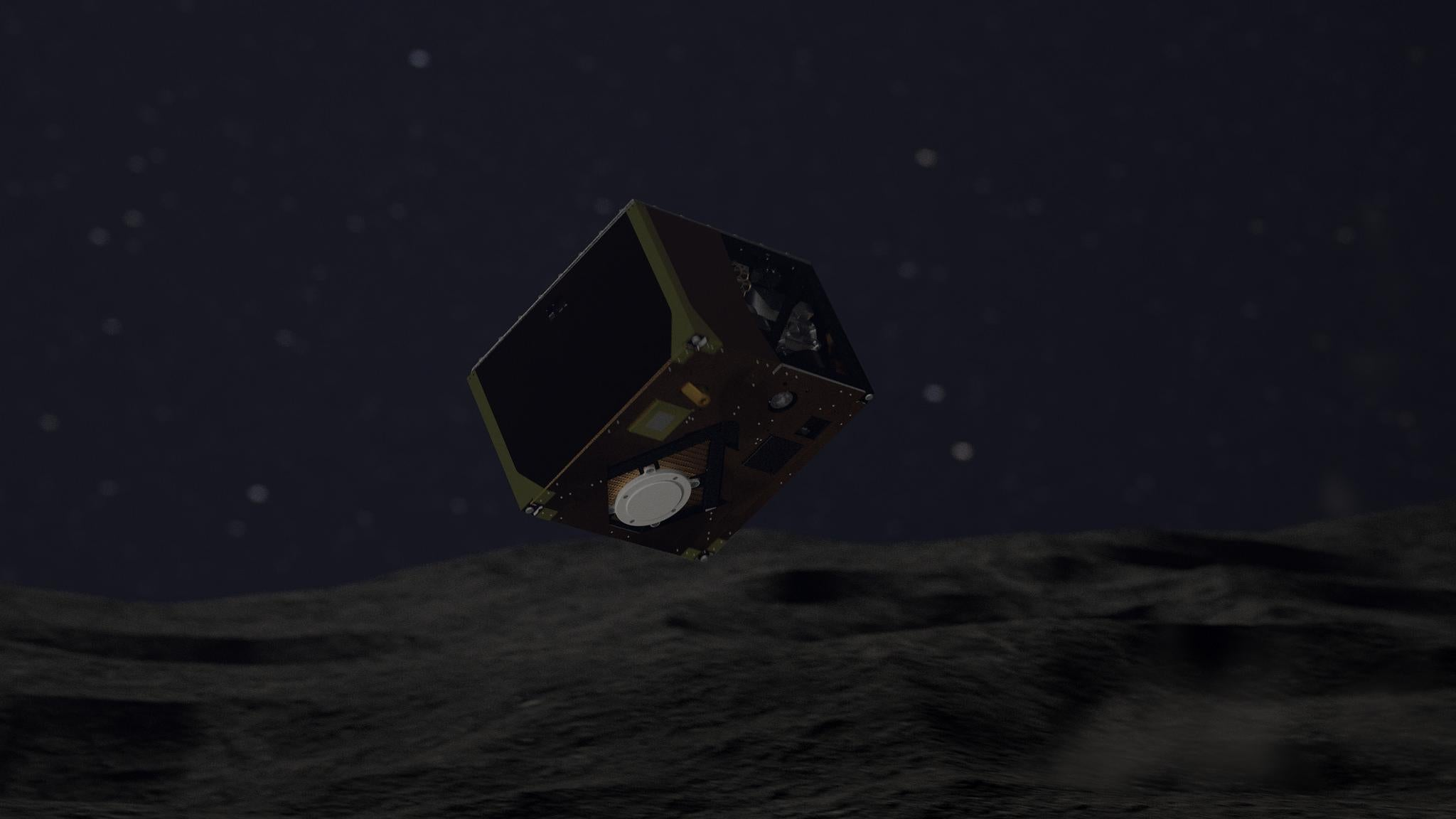 Japanese spacecraft drops robot onto asteroid to hunt for the origin of the sola...