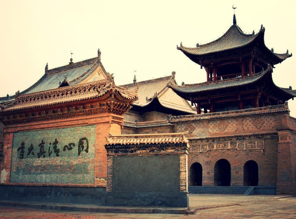 Tongxin Mosque in Ningxia, China