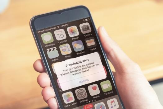 Presidential alert: Why did Trump just text me about a 'test of the National Wireless Emergency Alert System' and how does it work?