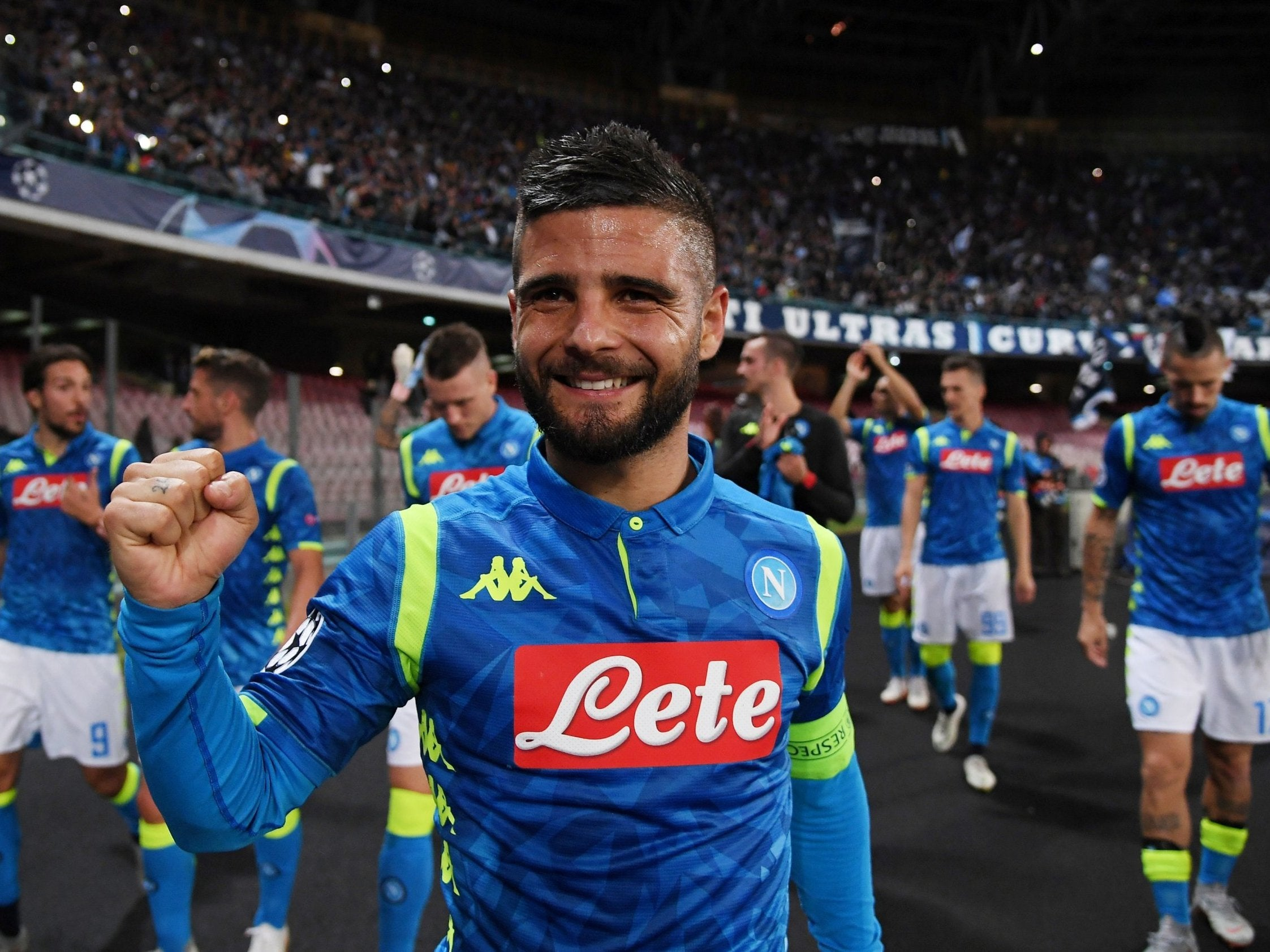 Lorenzo Insigne strikes in added time to down off-key Liverpool | The  Independent | The Independent