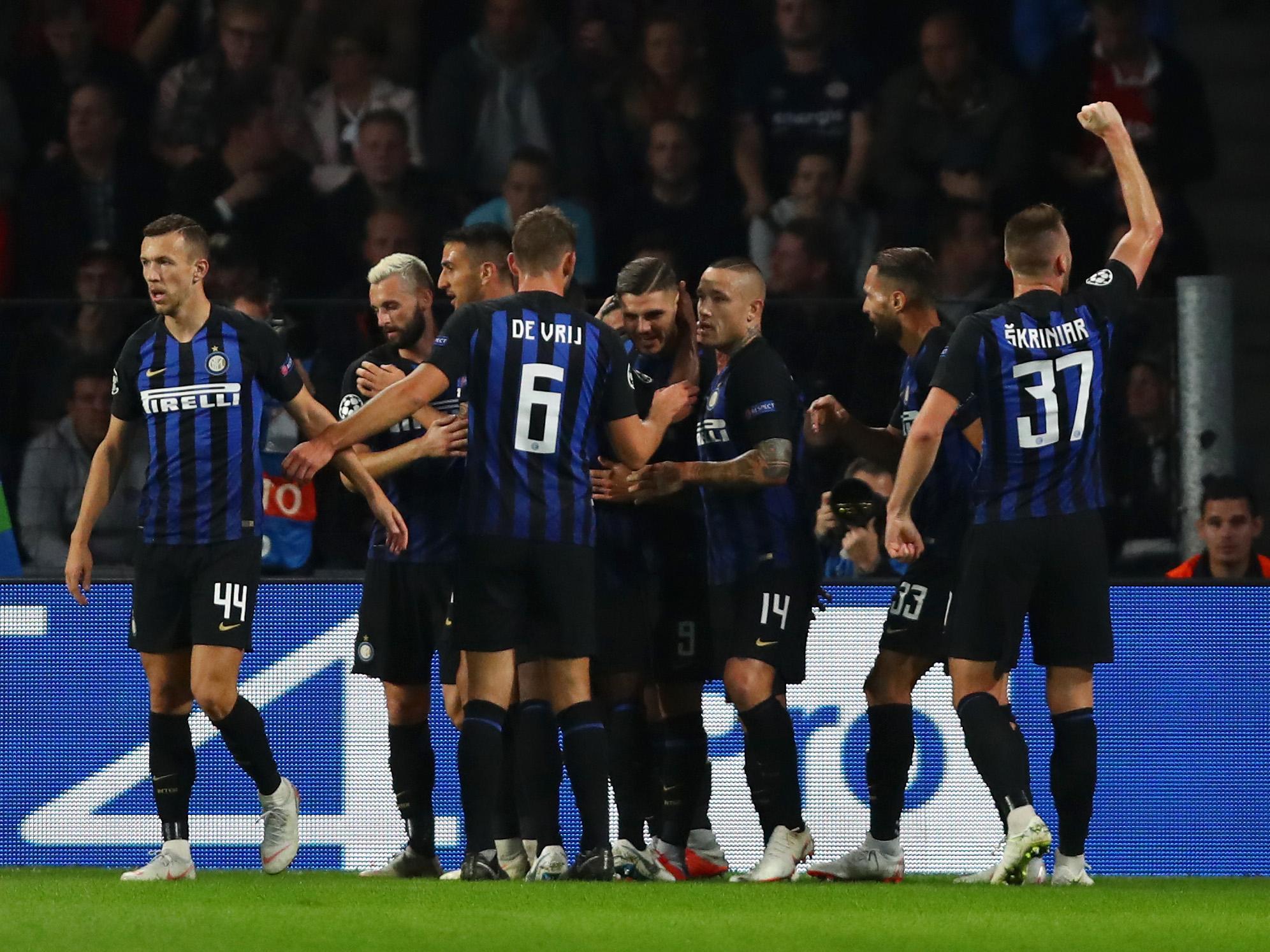 PSV Eindhoven 1-2 Inter Milan