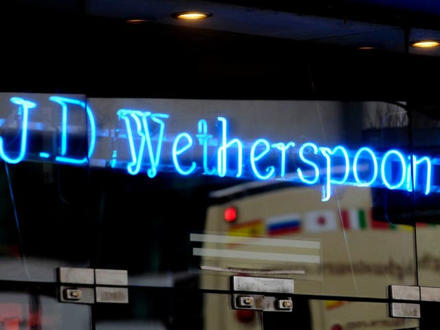 Workers at two Wetherspoon's pubs in Brighton are taking industrial action alongside employees of McDonald's and TGI Fridays as well as couriers for Uber Eats