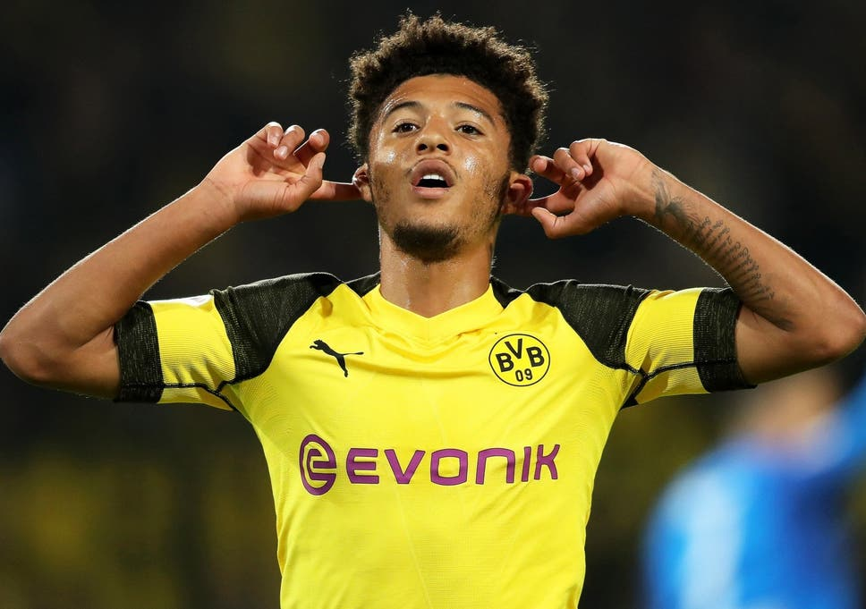 426bf3c9a5e10 Jadon Sancho has impressed since joining Borussia Dortmund 14 months ago