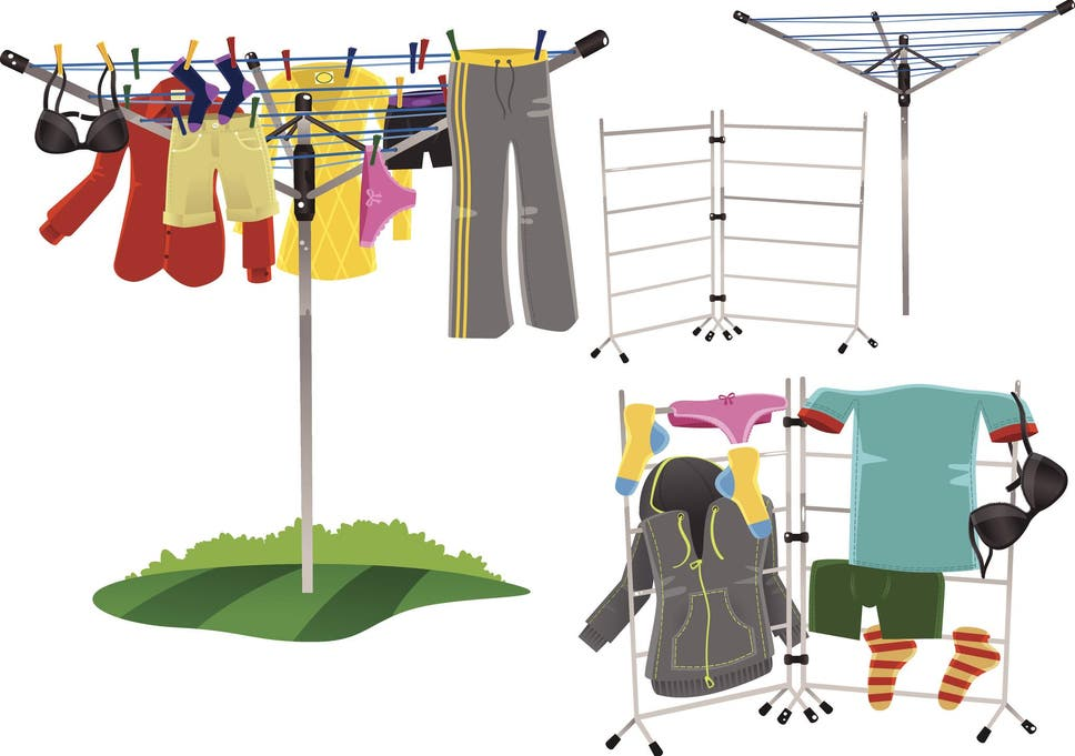 a8c8ca08789a Forget the simple clothes line and go for a well-designed drying rack