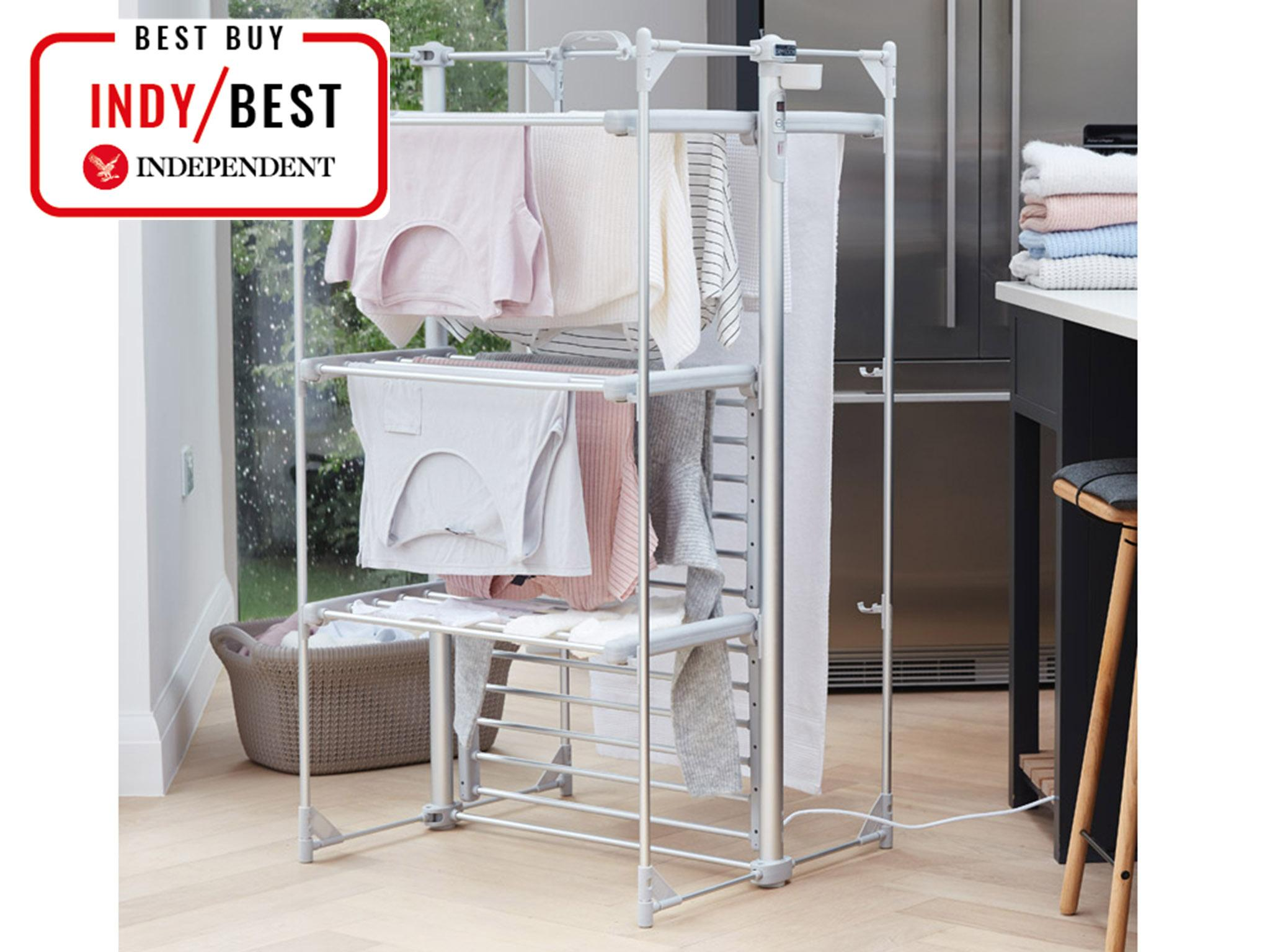 10 Best Clothes Airers And Drying Racks The Independent