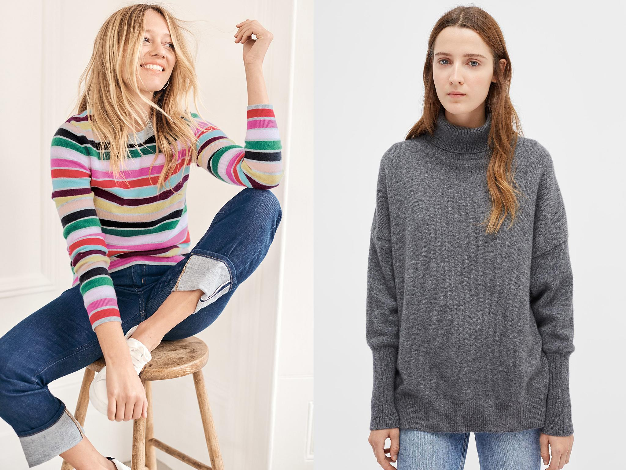 10 Best Cashmere Jumpers For Women The Independent