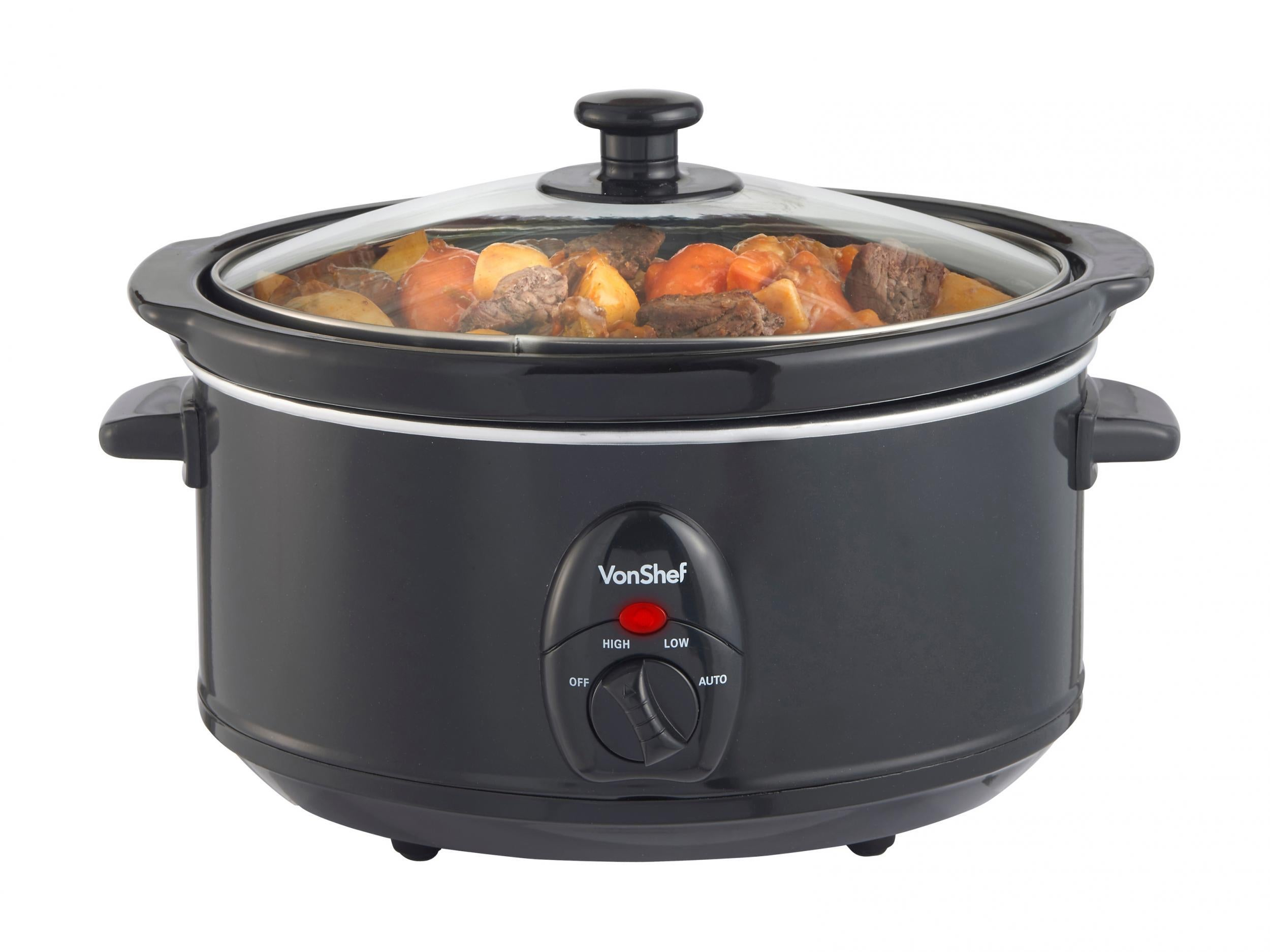 9 Best Slow Cookers The Independent National Rice Cooker Wiring Diagram Index Available In Black Or Silver We Think Looks More Stylish This Feels Well Made And Has Three Settings Of Low Warm High