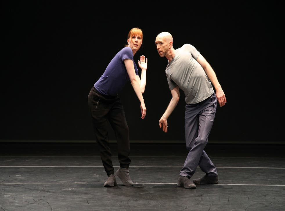 Jill Johnson and Christopher Roman in 'A Quiet Evening', featuring four dances by Forsythe