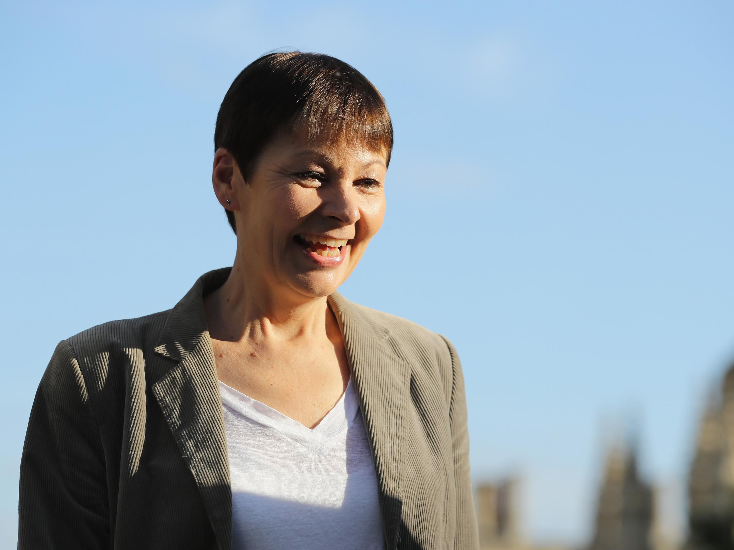 Britain must reconnect with nature to combat 'mental health epidemic', says Caroline Lucas