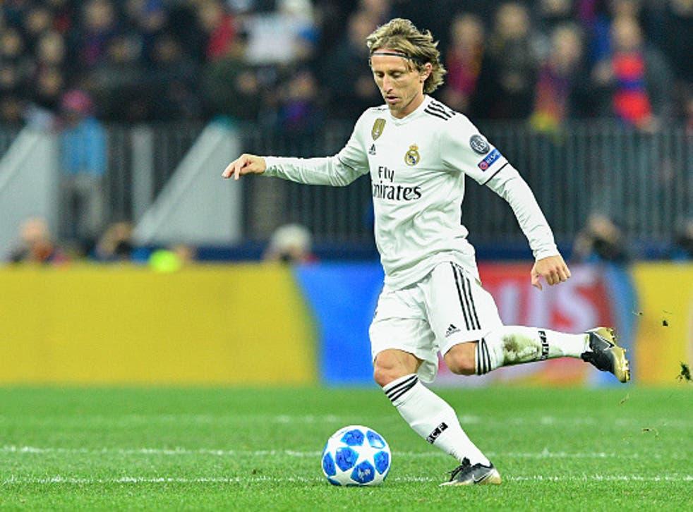 FIFA Player of the Year Luke Modric is commander to Madrid's midfield