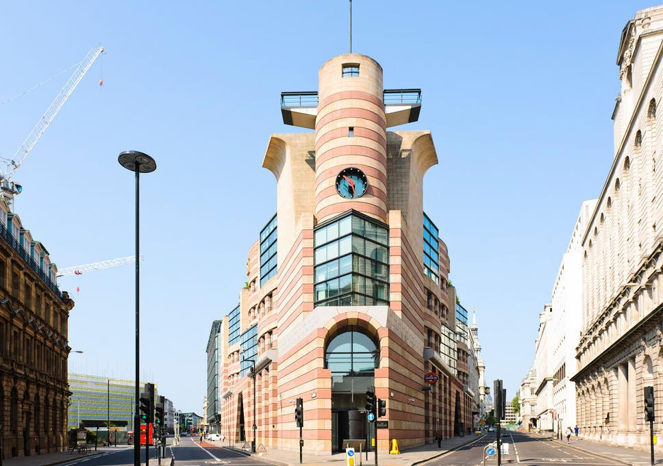 Is Postmodern Architecture Seeing A Revival In London The Independent