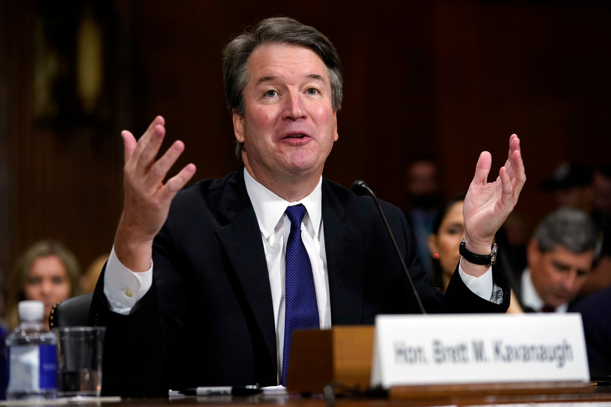 d8eed53b656 Brett Kavanaugh confirmed to Supreme Court amid widespread outcry over  sexual assault allegations