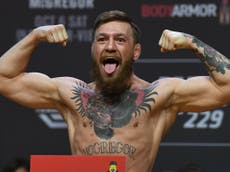 What is Conor McGregor's walkout music for his UFC title