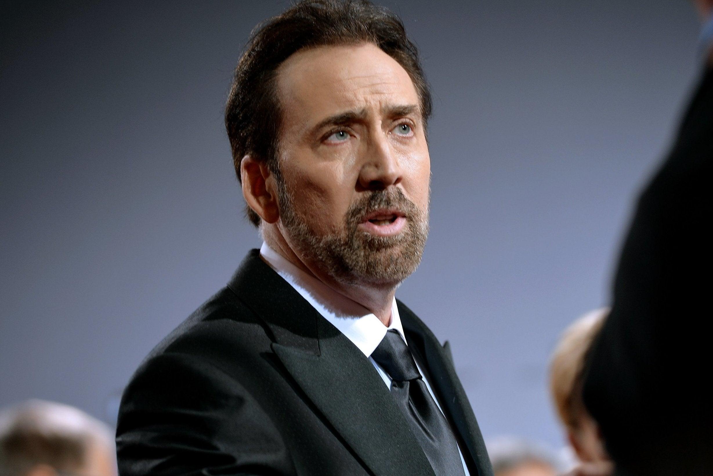 Nicolas Cage to star as Nicolas Cage in film about Nicolas Cage