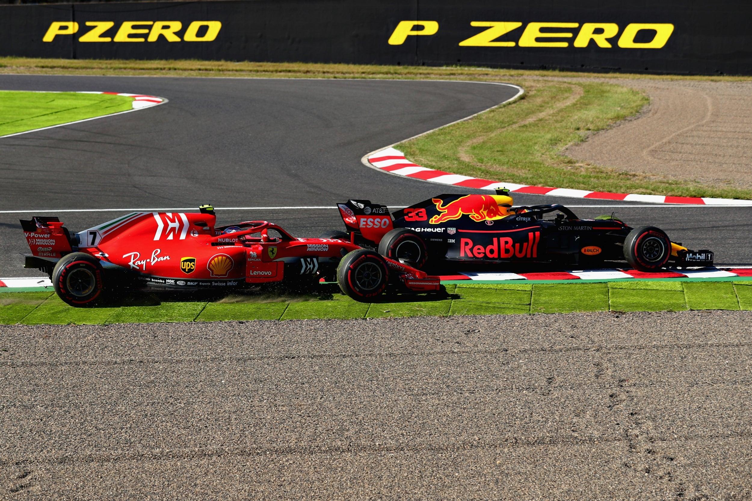 Verstappen vs Vettel