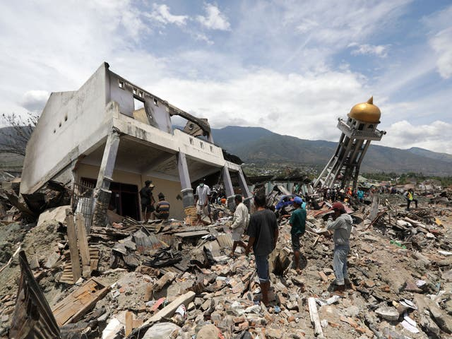 Indonesia earthquake - latest news, breaking stories and comment - The  Independent