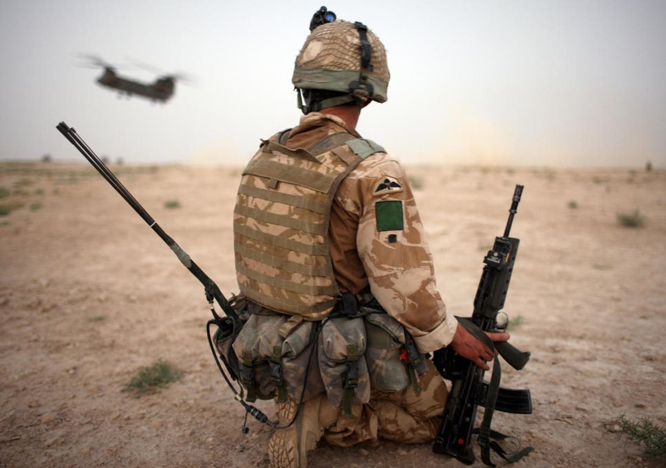 Former military personnel deployed to Iraq and Afghanistan have  particularly high rates of PTSD b03aa281272