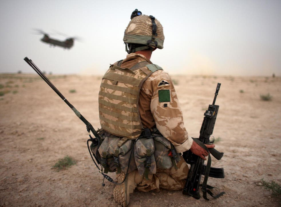 The overall rate of probable PTSD among current and ex-serving military personnel was 6 per cent in 2014-16