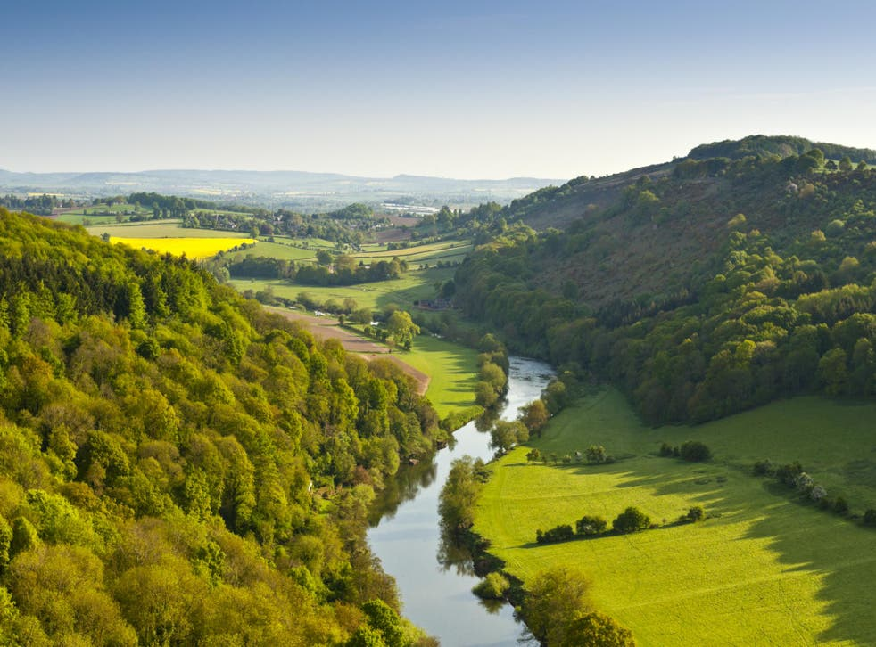 The Wye Valley trail proves a great route for first-timers