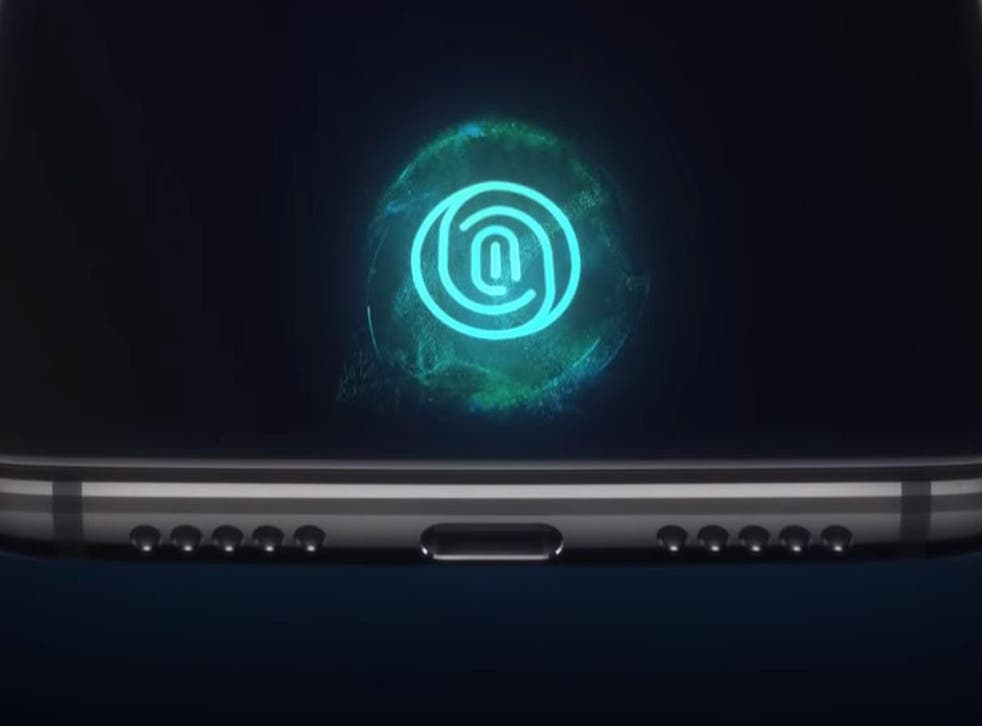 OnePlus has beaten smartphone heavyweights Apple and Samsung to introduce an in-screen fingerprint sensor