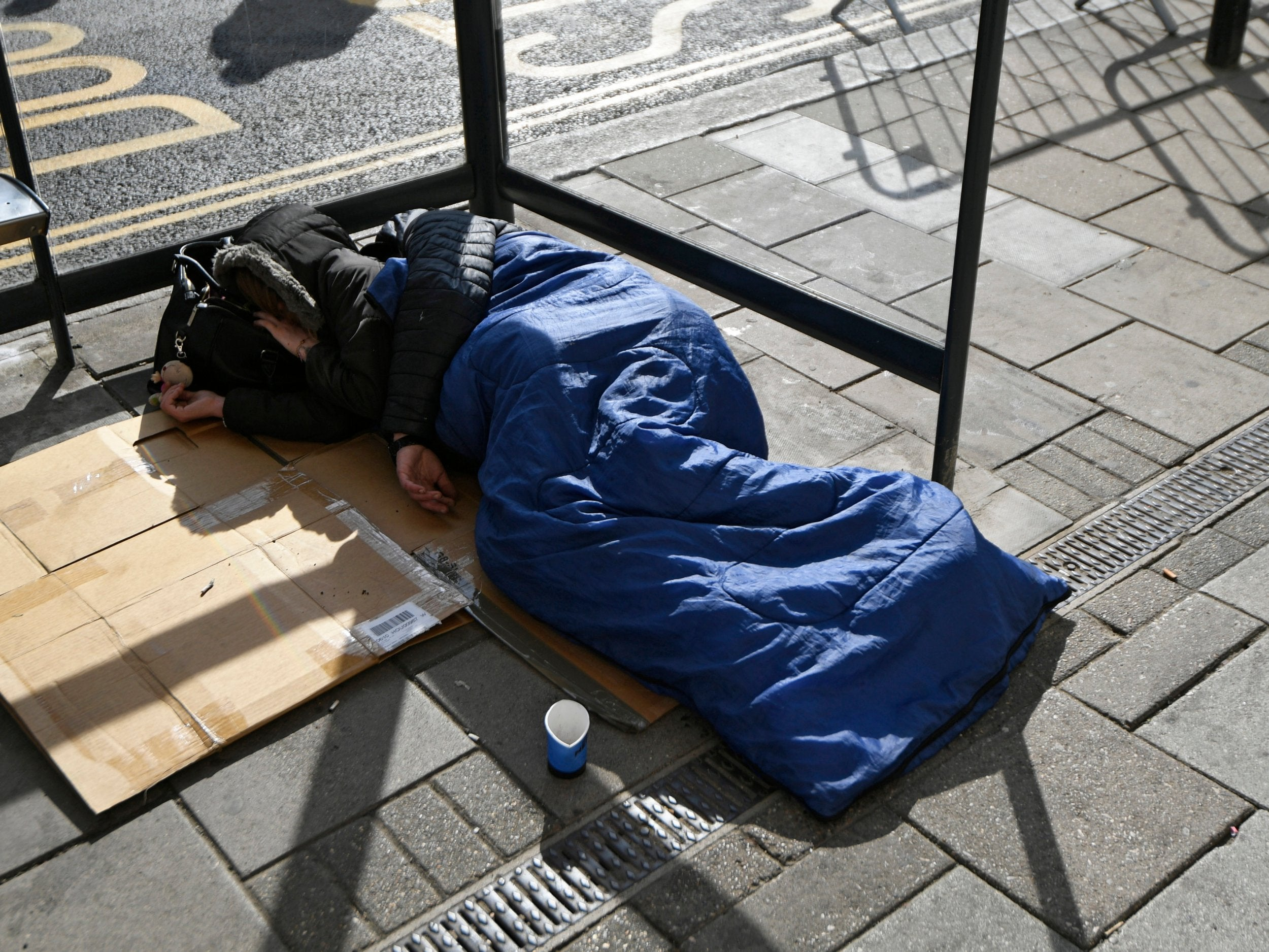 Homeless person Synonyms Homeless person Antonyms