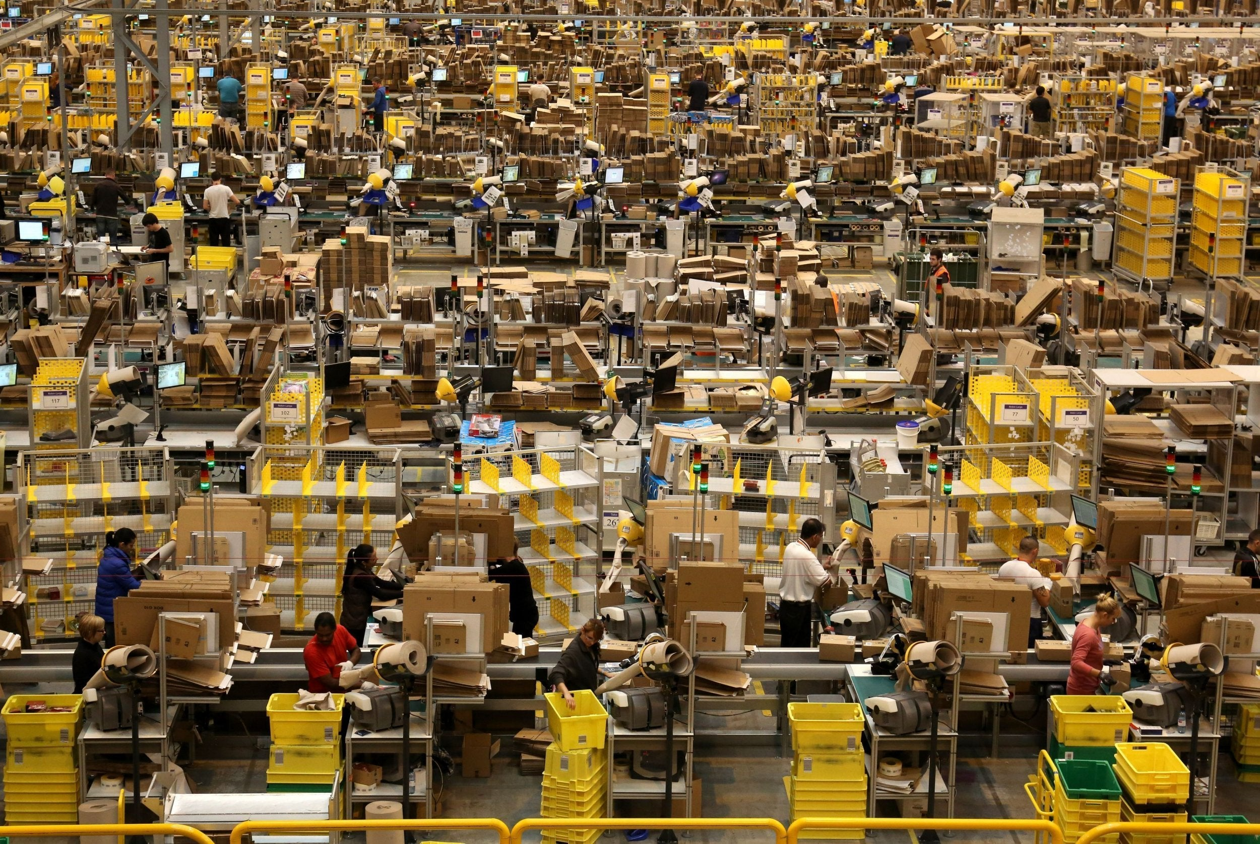 Amazon Workers Report 440 Serious Safety Incidents