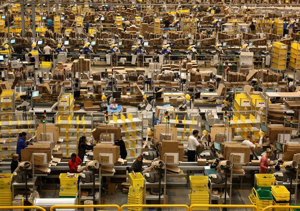Amazon workers report 440 serious safety incidents including