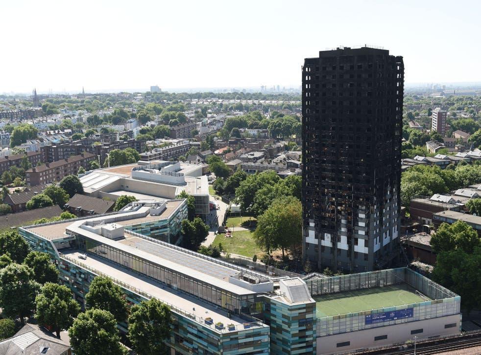 Seventy one people died in the blaze on 14 June last year.